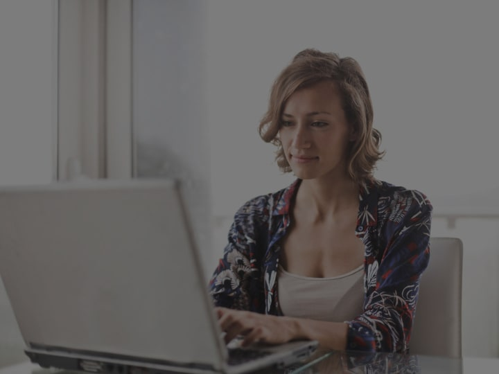 A Girl Using Reason Core Security on PC